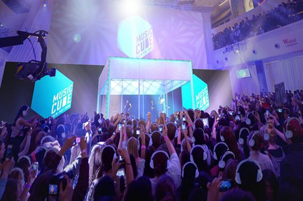 Westfield's music cube experience will return in 2015