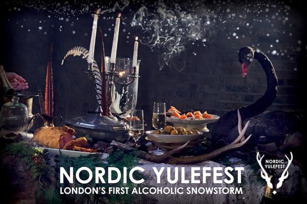 Ketel One announced as partner for Winter Yulefest