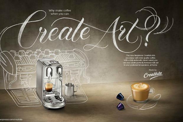 Nespresso: showcasing Creatista