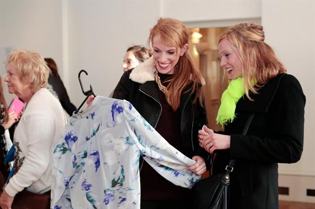 The event will feature pop-up shops from Topshop and John Lewis