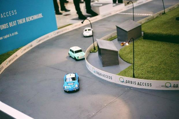 Orbit Access has worked with Circle Agency to create 'Benchmark Rally' racecourse in Canary Wharf, London