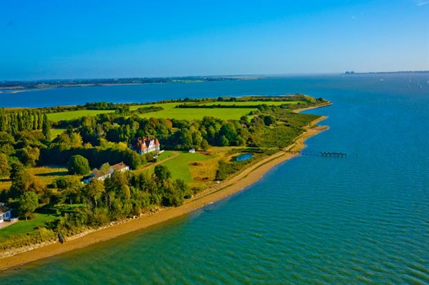 Osea is a private island off the coast of south-east England
