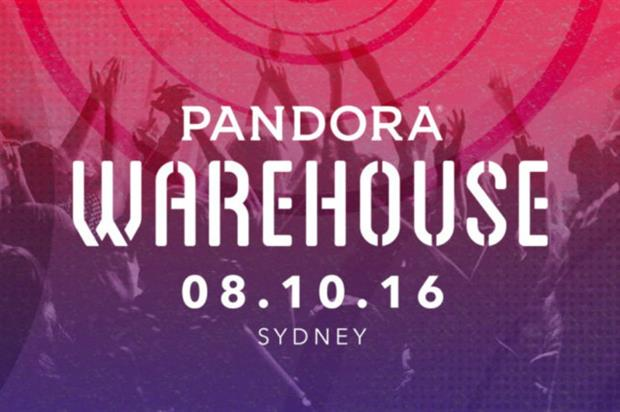 Pandora: secret warehouse party marks first live event in Australia
