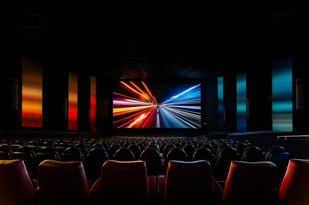 Large LED media panels and fixtures are to be added throughout the cinema and synced with media content