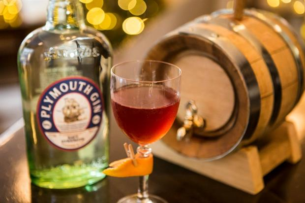 Plymouth Gin: creative festive cocktails