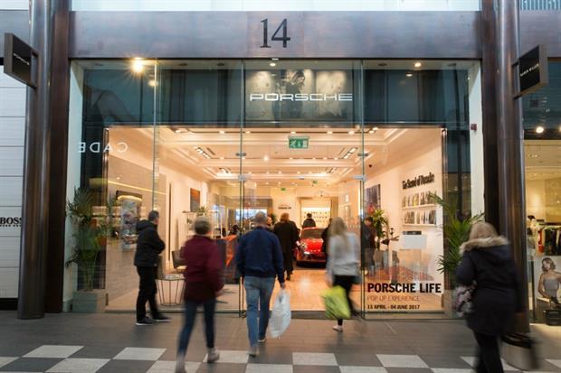 Porsche opens Porsche Life Installation in Liverpool One