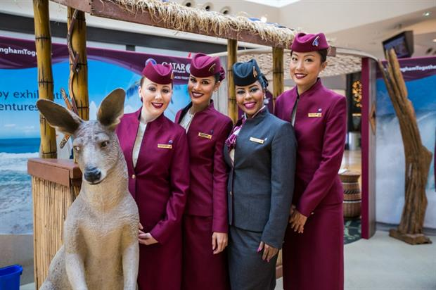 Qatar Airways: Manchester activation