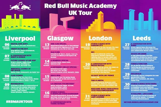 Red Bull Music Academy kicks off UK tour in Liverpool
