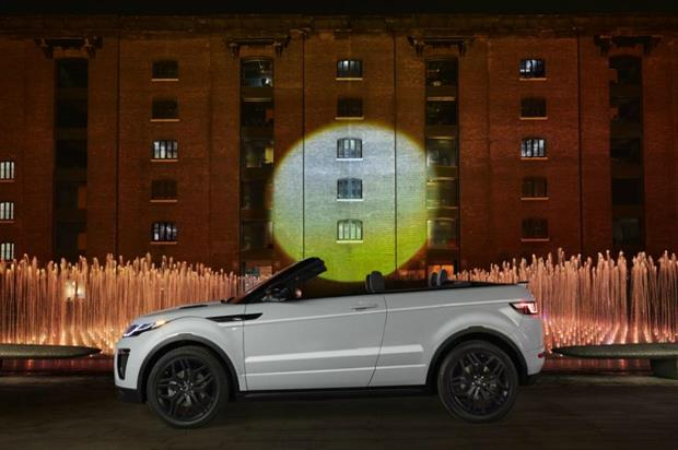The light projection covered an area the size of approximately 10 tennis courts