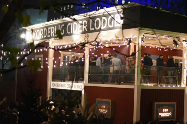 Rekorderlig's Cider Lodge returns