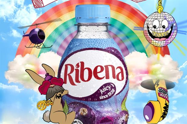 Ribena launches 'Doodle Your World' campaign