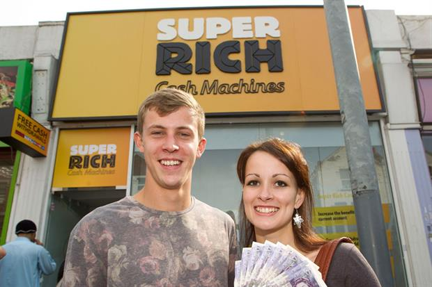 Betfair distributed free cash to Tooting ATM users