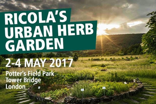 Ricola launches London Herb Garden project in London