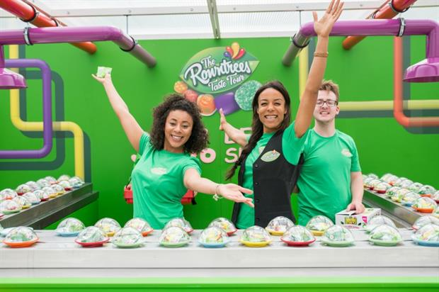 Rowntree launches sushi-themed Taste Tour