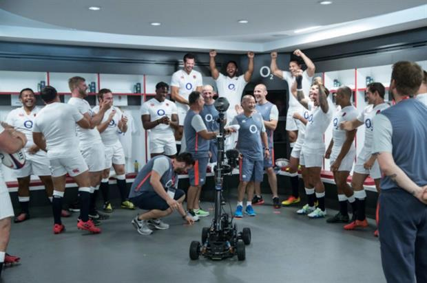 O2 and England Rugby team up to launch VR experience