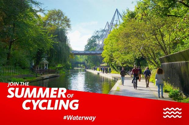 The experiences form part of Santander's Summer of Cycling campaign (@SantanderUK)