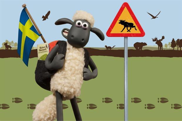 Shaun the Sheep Land will open in Sweden next summer