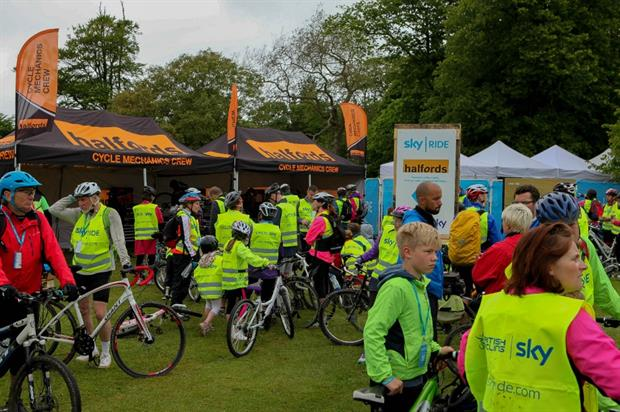 RPM helped to deliver the first Sky Ride event of the year in Plymouth on Sunday (31 May)