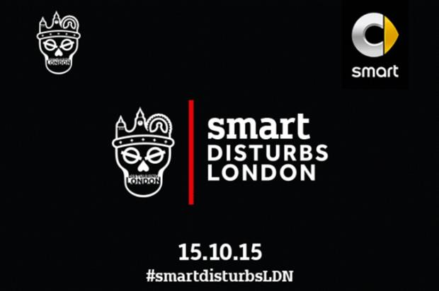 The event forms part of Smart's collaboration with Disturbing London