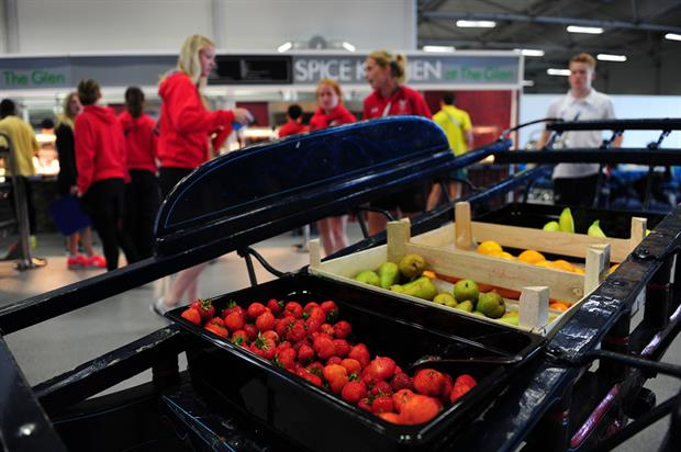 Sodexo: Commonwealth Games catering challenge