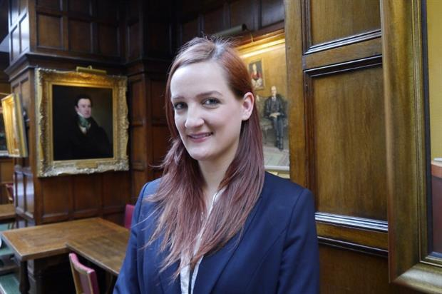 Sophie Linin joined London's Middle Temple in June