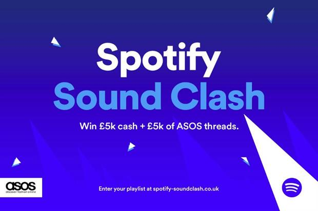 The Spotify Sound Clash will take place from 16 February to 22 March