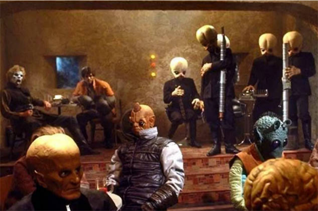 John Lewis is opening a replica Star Wars Cantina Bar this weekend