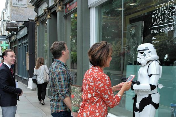 Royal Selangor: celebrating launch of Star Wars products