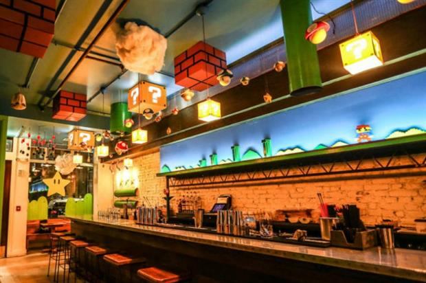Super Mario Brothers-themed bar launches in Washington D.C