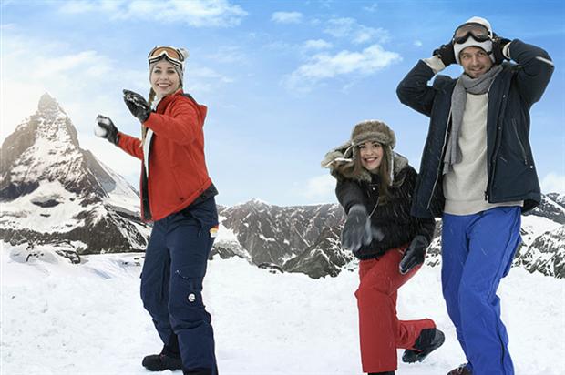 Swiss International Airlines launches snowball 'flight'