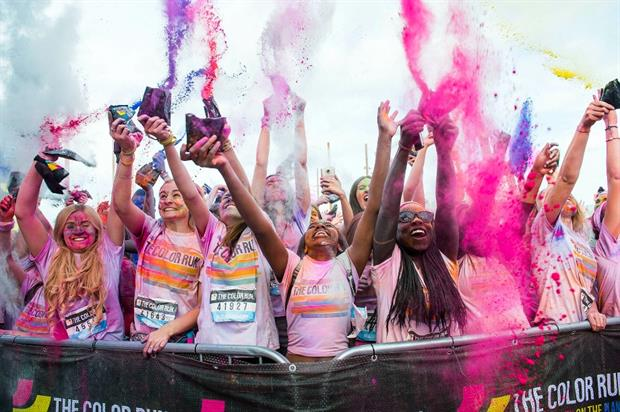 Renault, Capri-Sun and Alpen are partnering with this year's The Colour Run events
