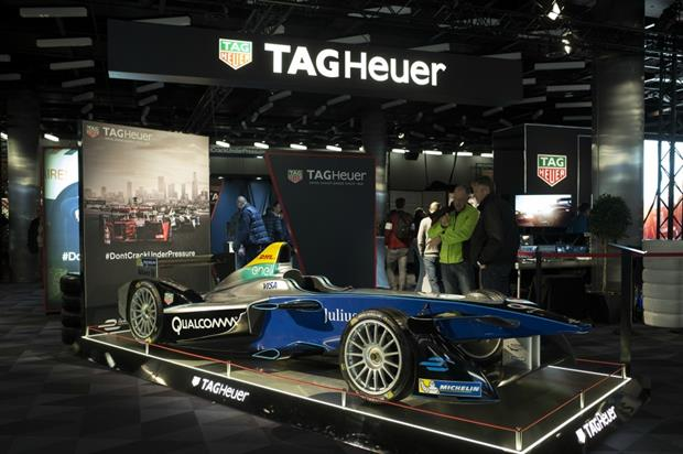 Tag Heuer: partnership with world of racing