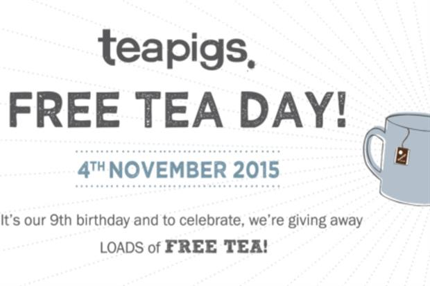 Teapigs will offer consumers free tea at public locations, and from a pop-up tea bar