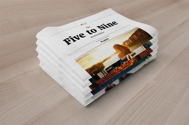 The events will support Microsoft Lumia's commuter newspaper, The Five to Nine