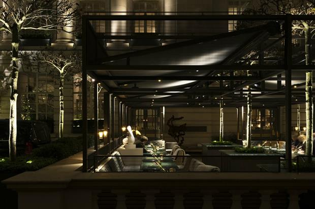 The Rosewood Terrace will host the bar
