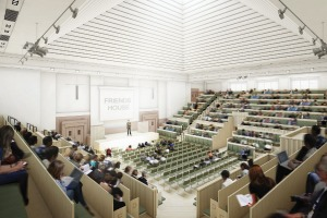 The Light's 1,000-capacity auditorium will feature a skylight
