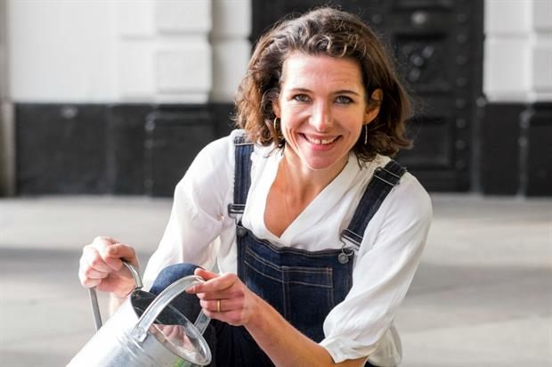 Spark Your City ambassador Thomasina Miers will be handing out gifts to passers-by