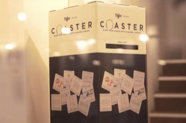 Ideas could be submitted via branded boxes situated within venues (YouTube/TigerBeerMalaysia)