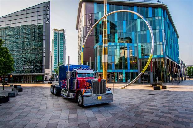 Transformers interactive experience hits the UK