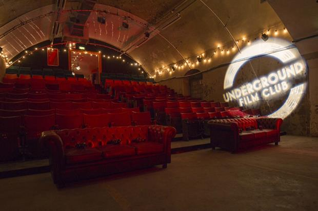 The screening will be held at The Vaults (@rooftopfilmclub)