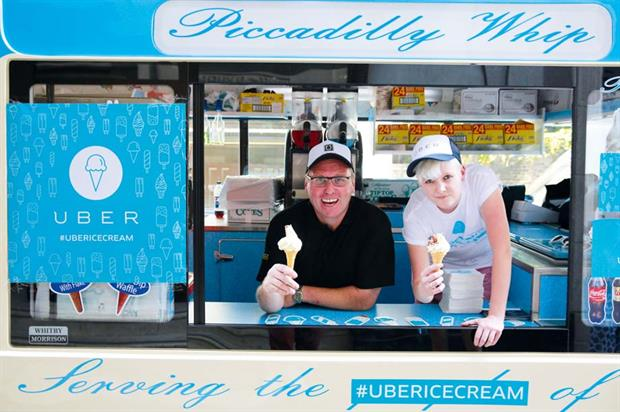 It will be the fourth year running that Uber has staged its #UberIceCream service