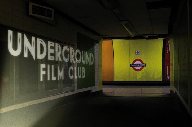 TfL will launch Underground Film Club at the end of May (image: undergroundfilmclub.com)