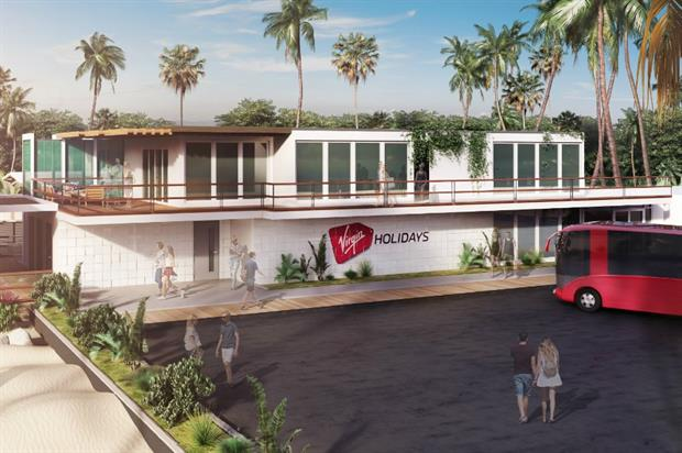 Virgin Holidays to unveil departure lounge on beach