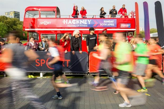 Virgin Sport launches Festival of Fitness in Hackney