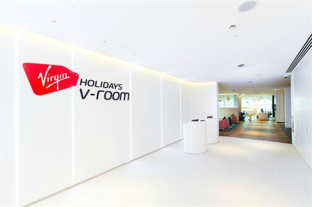 Virgin Holidays to launch new v-room in Gatwick Airport