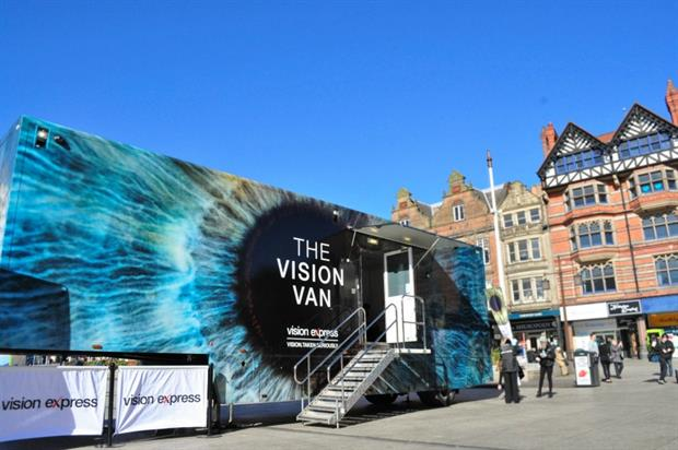Vision Express: bringing back its Vision Van roadshow for 2017