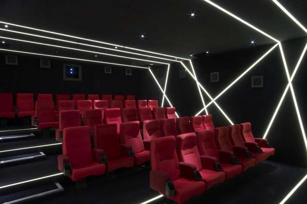 W London's 37-seat screening room