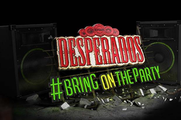 Jack Morton tasked with Desperados party activations