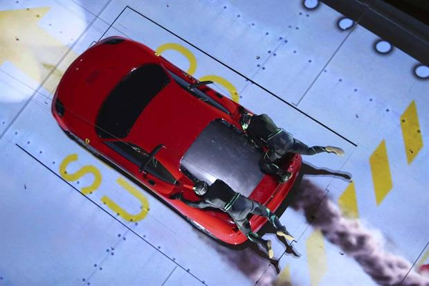 CGIs and special effects used in new Ferrari World experiences