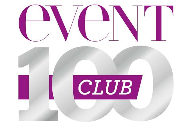 The Event 100 Club 2016 rankings were revealed on 7 December at Event's Christmas party